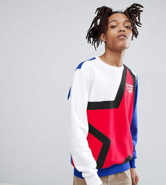 Converse One Star '86 Sweatshirt In White Exclusive To ASOS