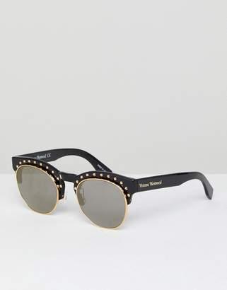 Vivienne Westwood Anglomania Studded Sunglasses