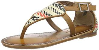 Pepe Jeans Girls' Maya Woven Sandals,(33EU)