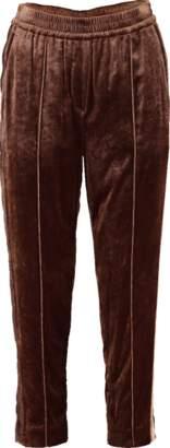 Brunello Cucinelli Liquid Velvet Pull On Pant