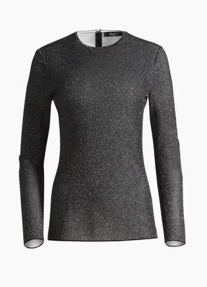 St. John Diamond Sparkle Knit Top