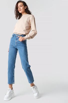 Olsen Astrid X Na Kd Straight Leg Jeans Blue