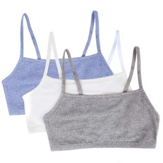 Fruit of the Loom Womens Strappy Sports Bra, Style 9036, 3-Pack