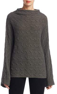 Ralph Lauren Collection Cable-Knit Cashmere Funnelneck Sweater
