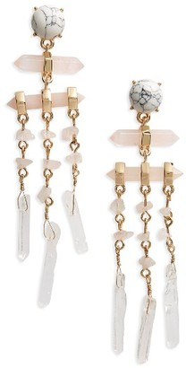 Women's Baublebar Ava Stone Drop Earrings $36 thestylecure.com