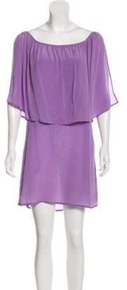 Indah Silk Sleeveless Mini Dress