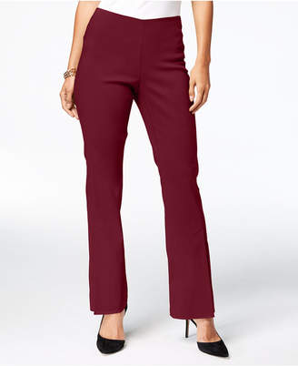 INC International Concepts I.n.c. Curvy Pull-On Bootcut Pants, Created for Macy's