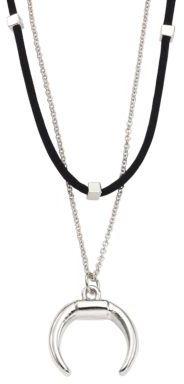 Jules Smith Ellie Faux-Suede Choker & Pendant Necklace $55 thestylecure.com