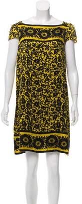 Diane von Furstenberg Cerisier Silk Dress
