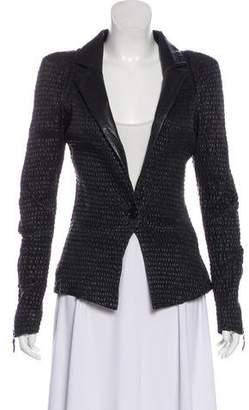 Preen by Thornton Bregazzi Textured Leather Jacket