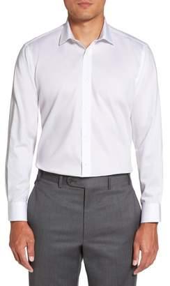 Ted Baker Caramor Trim Fit Solid Dress Shirt