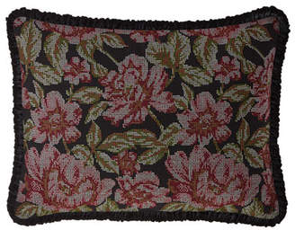 Dian Austin Couture Home Macbeth Floral Standard Sham with Piping
