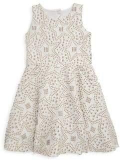 Zoe Girl's Cali Knit Jaquard Dress