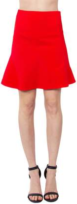 Sugar Lips Flared Red Skirt