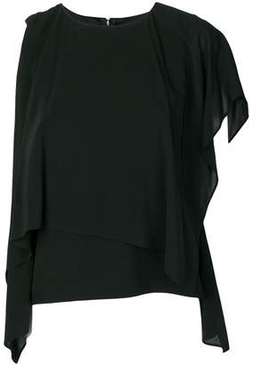 Chalayan one shoulder blouse