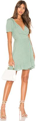 superdown Lili Wrap Mini Dress