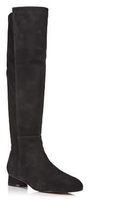 Stuart Weitzman Women's Eloise 30 Almond Toe Suede Boots