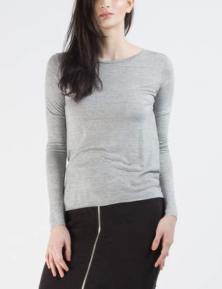 Cheap Monday Grey Melange State L/S T-shirt
