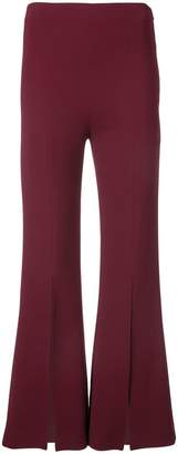 Roland Mouret flared slit trousers