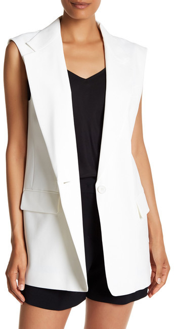 DKNY DKNY Notch Collar Vest