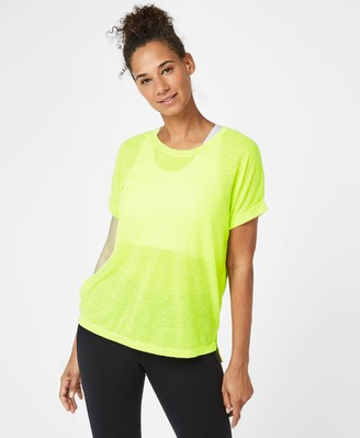 Sweaty Betty Ab Crunch Workout T-Shirt