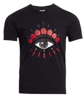Kenzo Good Luck Eye Graphic T-Shirt