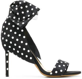 Alexandre Vauthier polka dot sandals
