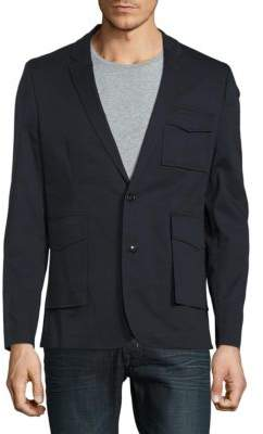 Highline Collective Fashion Patch Pocket Blazer