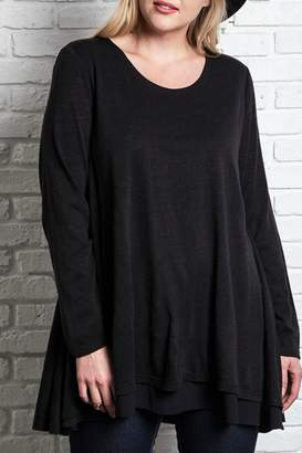 Umgee USA Layered Flared Tunic