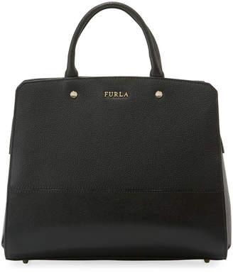 Furla Rachel Large Leather Satchel Bag
