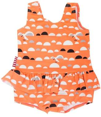 Little Miss SOOKIBABY C.Gull Skirted One-Piece Swimsuit (Baby Girls)