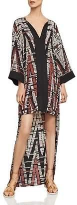 BCBGMAXAZRIA Chevron High/Low Dress