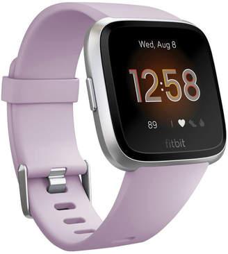 Fitbit Versa Lite Smartwatch - Lilac/Silver