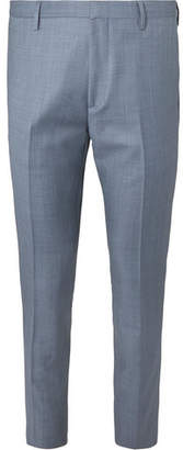 Paul Smith Soho Slim-Fit Tapered Wool-Sharkskin Suit Trousers