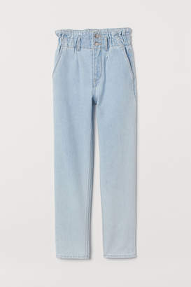 H&M Relaxed Fit Ankle Jeans