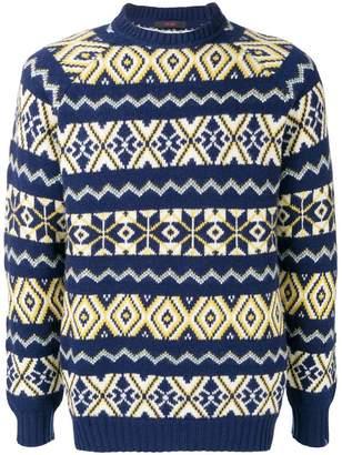 The Gigi knit patterned jumper