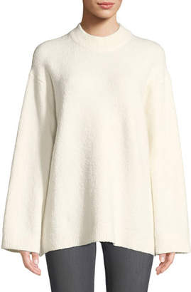 Elizabeth and James Josette Oversized Boucle Pullover Sweater