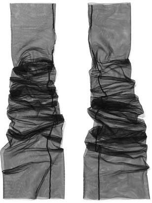 Pan & The Dream - Tulle Fingerless Gloves - Black