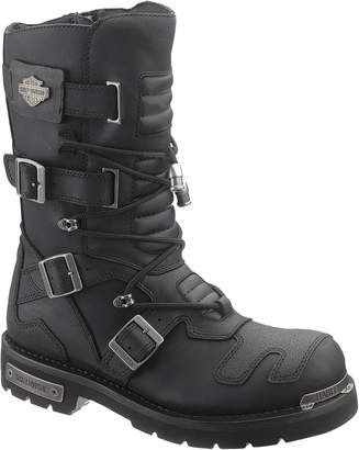 Harley-Davidson Mens Axel Leather Long Boots 11 US