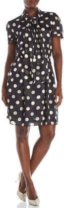 pink tartan Polka Dot Tie Dress $375 thestylecure.com