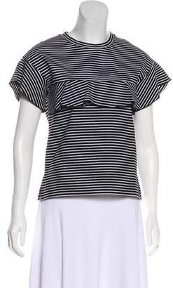 Whistles Striped Short Sleeve Top w/ Tags