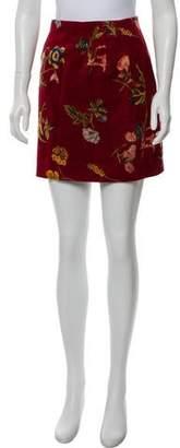 Kenzo Floral Mini Skirt