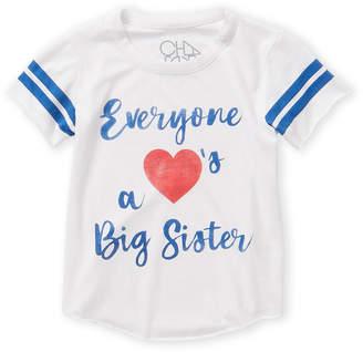 Chaser Girls 7-16) Big Sister Short Sleeve Tee