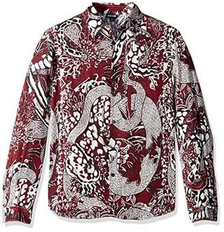 Just Cavalli Men's Printed Shirt