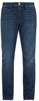 Frame L'homme Slim Leg Jeans - Mens - Dark Blue