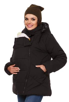 Zeta Ville Fashion Zeta Ville - Womens Maternity Padded Jacket Removable Panel Babywearing - 075c (