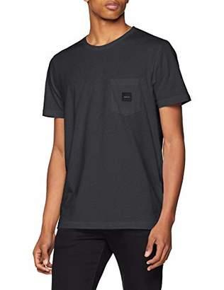 Makia Men's Square Pocket T-Shirt (Black-Grey 960), (Size:M)