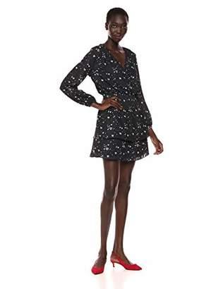 Parker Women's Clementine Long Sleeve Smocked Waist Mini Dress