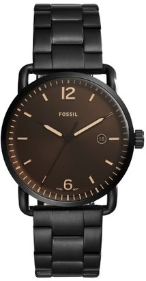 Fossil The Commuter Bracelet Watch, 42Mm $135 thestylecure.com