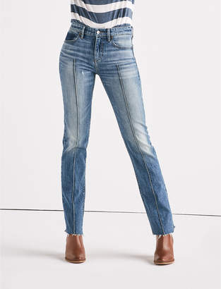 Lucky Brand Remade Ava Mid Rise Slim Straight Jean